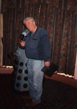 Gareth Thomas meets a Dalek
